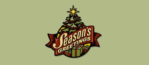 christmas-logo-design-seasons-greetings