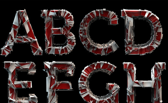 shattered-free-font-design-2011