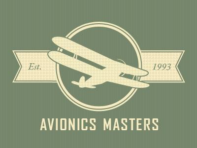 logo vintage avionics
