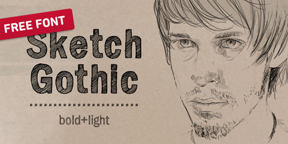 sketch-gothic-free-font-2011