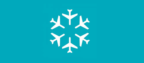 christmas-logo-design-snowflake