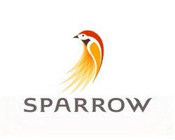 logo-design-animale-uccello-sparrow