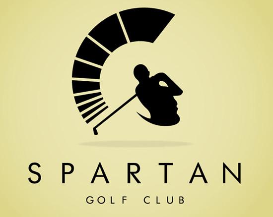 spartan golf logo