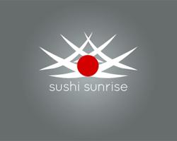 logo-design-japanese-style-origami-sushi-sunrise