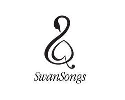 logo-design-animale-uccello-swan-songs