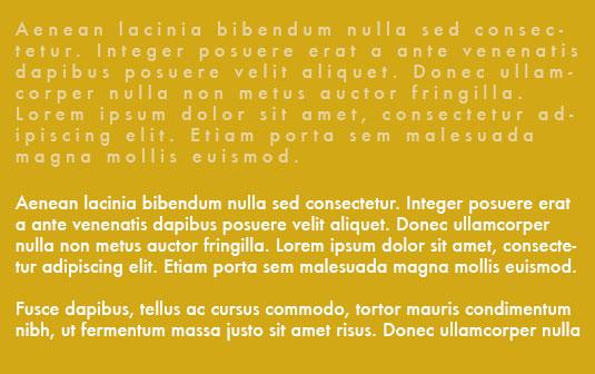 I Peggiori Errori di Tipografia Commessi Dai Designer