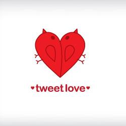 cuore-san valentino-logo-design-tweet-love