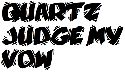 15 divertenti fonts gratuiti in stile cartoon