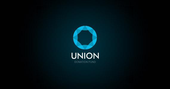creative-gradient-3d-effect-logo-design-union
