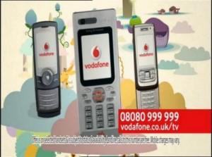 pubblicità vodafone