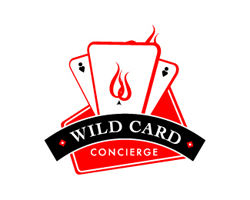 logo-design-gambling-games-poker-wild-card-concirge