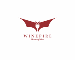 dual-concept-logo-negative-space-design-wine-pire