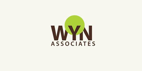 logo design green wyn
