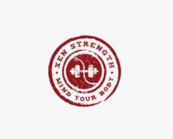 logo-design-vintage-style-xen-strenght