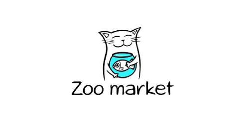 zoo-market-logo-design